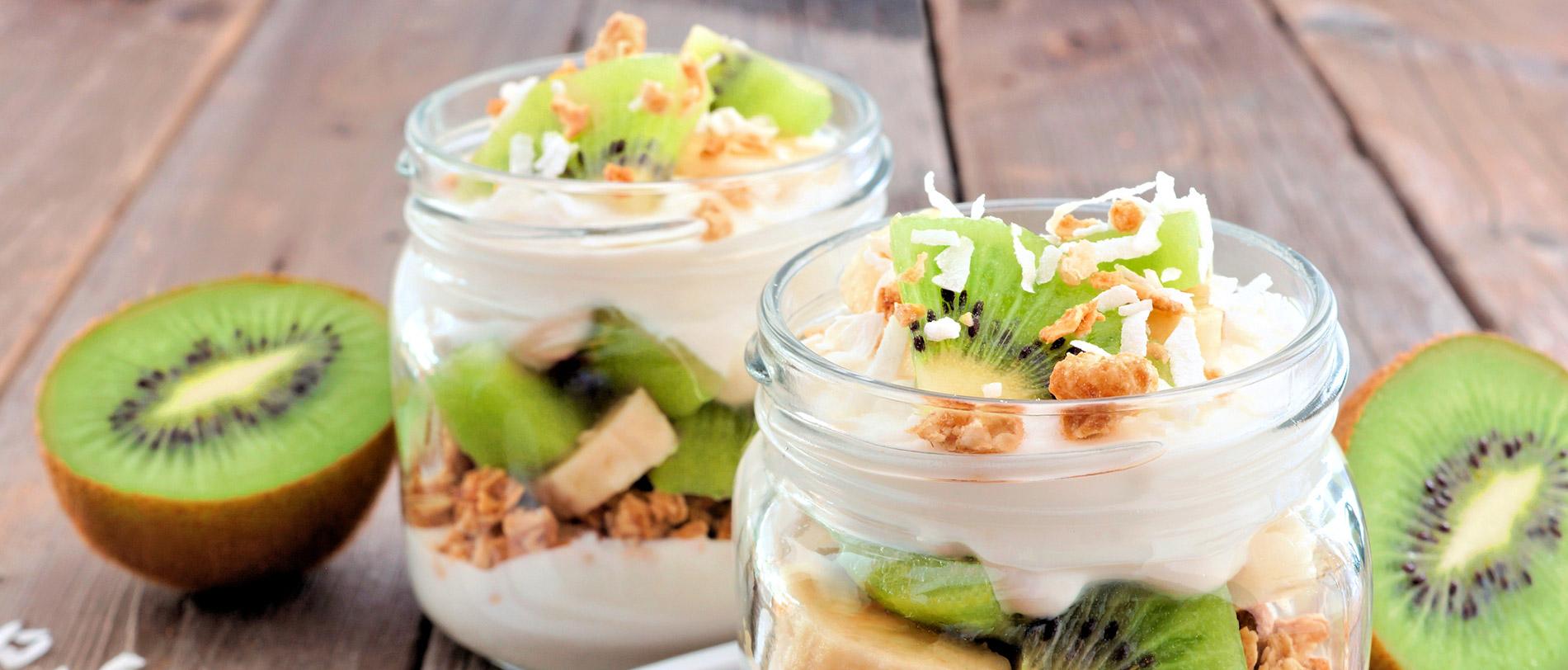 Petit-déjeuner sain et équilibré